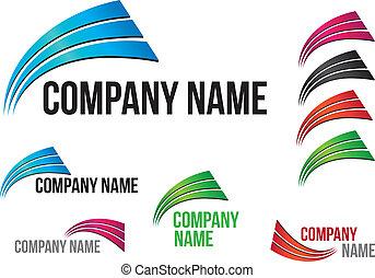 Firma (Business) Logo Arcs Design
