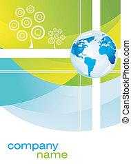 Firmen-Busines-Karte