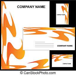Firmenidentitätsdesign
