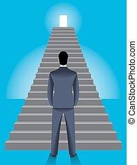 Firmenleiter-Geschäftskonzept