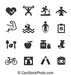 Fitness-Ikone.