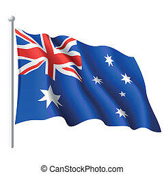 Flagge Australiens.