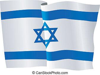 Flagge Israels.