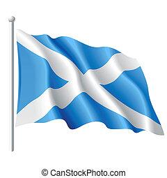 Flagge Schottlands.