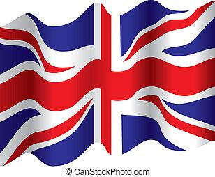 Flagge schwenken