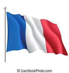 Flagge von Frankreich