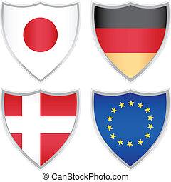 Flaggen-Ikonen