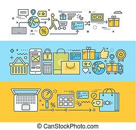 Flat-Konzepte für Online-Shopping