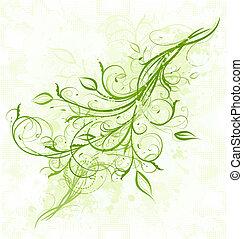 Floral Grunge Hintergrund