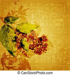 Floral grunge Hintergrund.