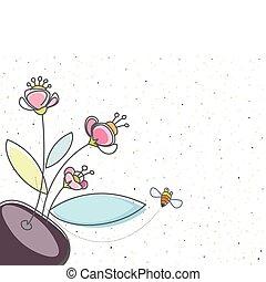 Floral und die Biene