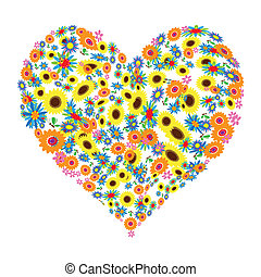 Flores Herzformular