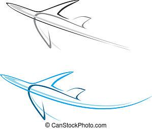 Flugzeug, Flugzeug