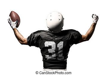 Footballspieler.