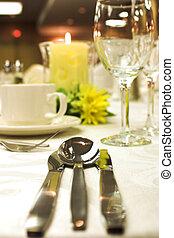 Formal Abendessen
