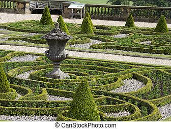 Formale Gärten.