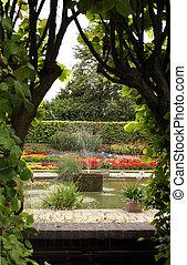 Formaler englischer Garten