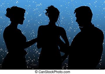 Formelle Gruppe über Sternbild