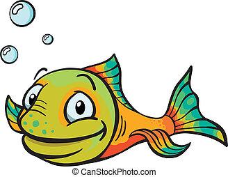 Fröhlichen Cartoon-Fisch