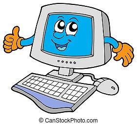 Fröhlichen Computer