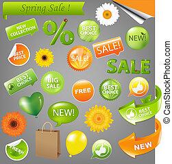 Frühlingsverkauf.