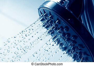 Frische Dusche