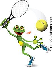 Frog Tennisspieler