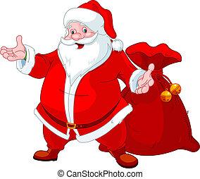 Frohe Santa