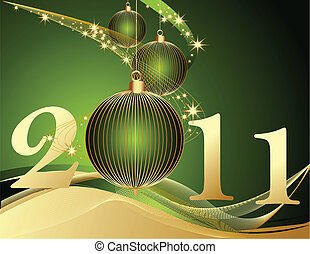 Frohes neues Jahr 2011