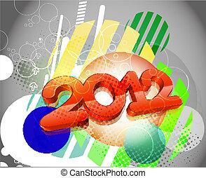 Frohes neues Jahr 2012.