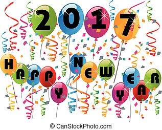 Frohes neues Jahr 2017.