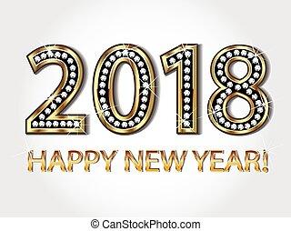 Frohes neues Jahr 2018.