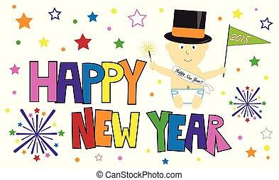 Frohes neues Jahr, Baby.