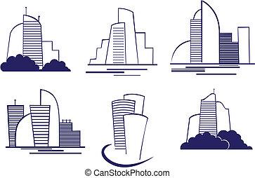Gebäude symbolisieren
