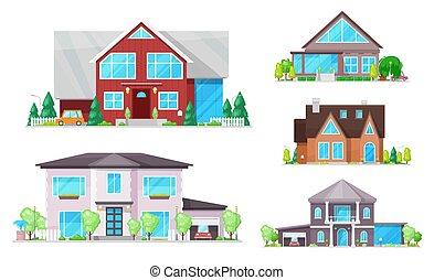 gebäude, windows, dächer, haus, hütte, daheim