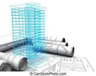 Gebäudedesign.