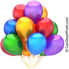 Geburtstagsballons Dekoration