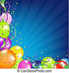 Geburtstagsgeschichte mit Ballons und Sonnenbrand