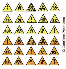 gefahr, chemische , zeichen & schilder