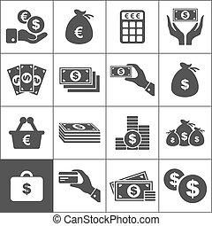 Geld eine Ikone