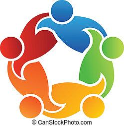 gemeinschaftsarbeit, unterstuetzung, 5, logo