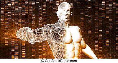 Genome-Sequenz.