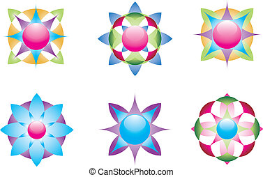 Geometrische Ikonen 3