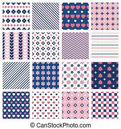 Geometrische Muster.