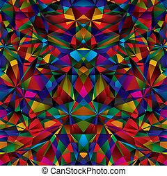Geometrische Oberfläche nahtlos Muster.