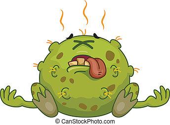 Germ Maskottchen.