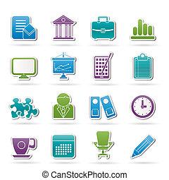 Geschäfts- und Büro-Ikonen