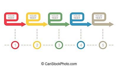 Geschäftsflussdiagramm.