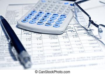 Geschäftskonzept - Finanzbericht