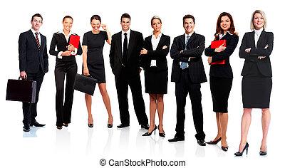 Geschäftsleute-Team.